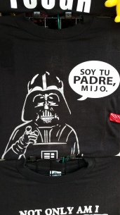 "Version Latina del ""I'm your father"" de Star Wars"
